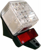 Achterlicht led pearly Tomos
