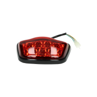 Rear light led red smoke black rim China Vespa LX S Napoli vx50agm