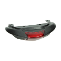 Back spoiler + rear light Zip from 2009 black Piaggio original 575407000c
