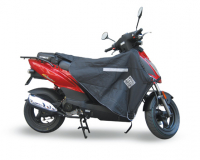 Beenkleed thermoscud Kymco Agility Ludix Orbit pk50 Speedfight Sportcity Peugeot V-clic zilver tucano r017=UI