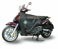 Beenkleed thermoscud Piaggio Beverly geo x-city zwart Tucano Urbano tot 2010 r152 n