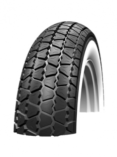 Buitenband 300x10 wit schwalbe hs243 classic