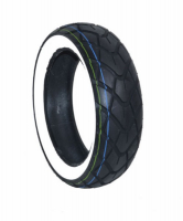 Tire + White sides all weather 110\/70x11 Cst cm519