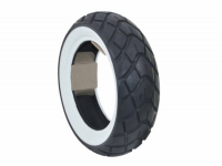 Tire + White sides all weather 120\/70x10 Cst cm519