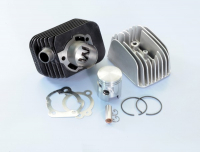 Cylinder + cylinder head racing Vespa Ciao 43mm-p12 Polini 140.0065 r
