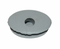 Cable grommet open cs \/ KS100 gray Z432-12120