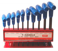 Tools T-keyset inbus 2-10mm