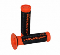 Grip set Progrip black \/ orange model 732 scooter