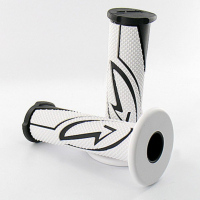 Grip set white black bcd poignee00202
