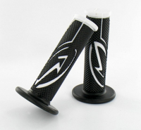 Grip set black white bcd poignee00101