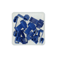 Cable connecting piece blue 12 pieces