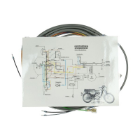 Wire harness without ignition lock 517 ks50lc grey
