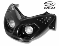 koplamp aerox zwart bcd optique00801