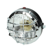 Koplamp rond + rooster Tomos A3 Tomos A35 Puch Maxi chroom Bosatta f107
