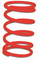 Clutch compression spring Sfera Zip old type red Malossi 297087.r0