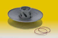 Clutch pulley outside Area 51 Malossi 619223