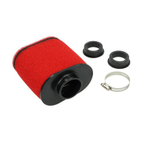 Power filter oval 42mm red middle DMP