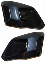 Radiator front set Gilera Runner carbon DMP