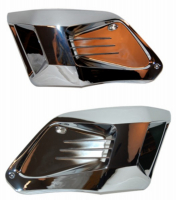 Radiator front set Gilera Runner chrome DMP