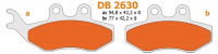 Brake pad set Gilera DNA DNA 180CC dt50lc mx rs1 rs1999 Gilera Runner pro Gilera Runner 180cc rx tzr xsm front and back