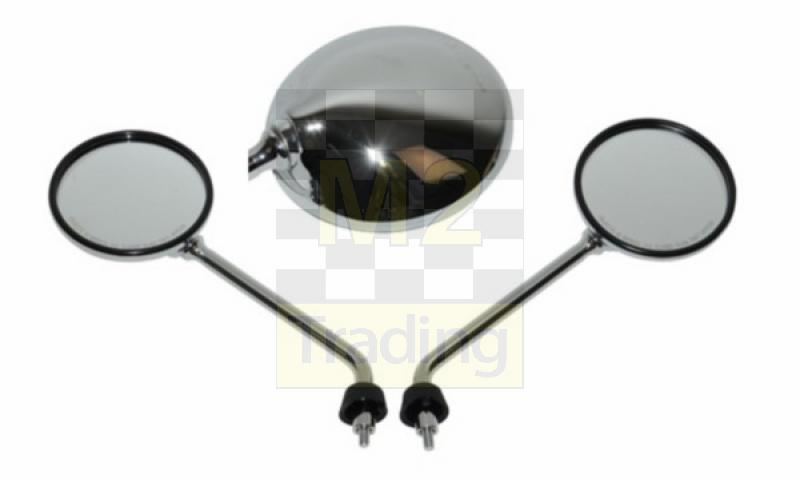 Vespa Spiegel Schroefdraad : M trading mirror set schroefdraad model original e keur vespa