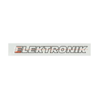 Sticker Kreidler (elektronik) wit