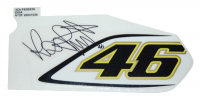 Sticker yamaha Front cover Yamaha Aerox from 2006 rossi yellow linksboven original 3c6f83be00=op=