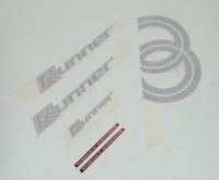 Stickerset Gilera Runner pro Piaggio origineel 577973