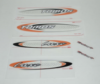 Stickerset Tomos Luxe EX e-start origineel 234665