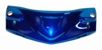 Handle cover front Gilera Runner blue chrome DMP=op=op