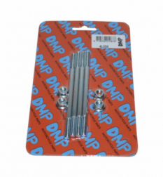 Tapeind Cilinder + moer Puch Maxi Puch Piaggio 2-takt scooter m6x107mm DMP 4pcs