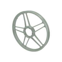 Rim star Puch Maxi Puch grey front and back 17 Inch