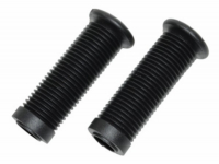 Footrest rubber set Tomos A35 Flexer black