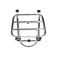 Front carrier foldable (made in italy) Vespa LX 125cc Vespa LX Vespa S chrome front