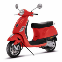 Front fender Vespa LX fl red dragon 894