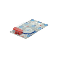Wielbies sticker blauw plus montage adapter CIF