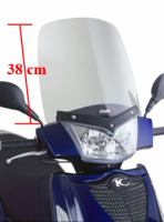 Windscreen2005-2009 Kymco People S 50cc and 125 cc Puig