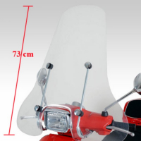 WindscreenHigh + Bev.Set Vespa S Piaggio Origineel.