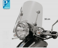 Windscreen low + fixation set beverly 38cm Piaggio original 654391