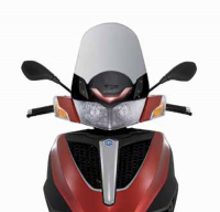 Windscreen medium 49cm Piaggio MP3 yourban original 673923