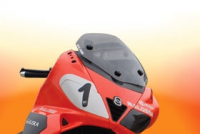 WindscreenPiaggio Nexus Smoke Malossi