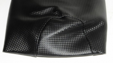 Cover buddyseat cover Peugeot Vivacity carbon