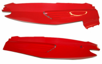 Side cover set Gilera Runner red DMP