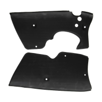 Side cover set super 51.64.04+15.64.03 Kreidler 5 gears black matt
