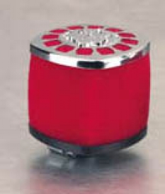 Air filter 38Mm Malossi E14 red