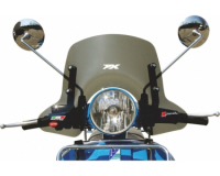 windshield faco vespa px-2011 smoke small model