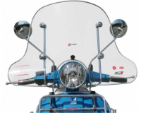 windshield faco vespa px \/ hp 4-season