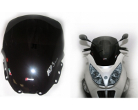 windshield faco piaggio mp3 250\/400 smoke