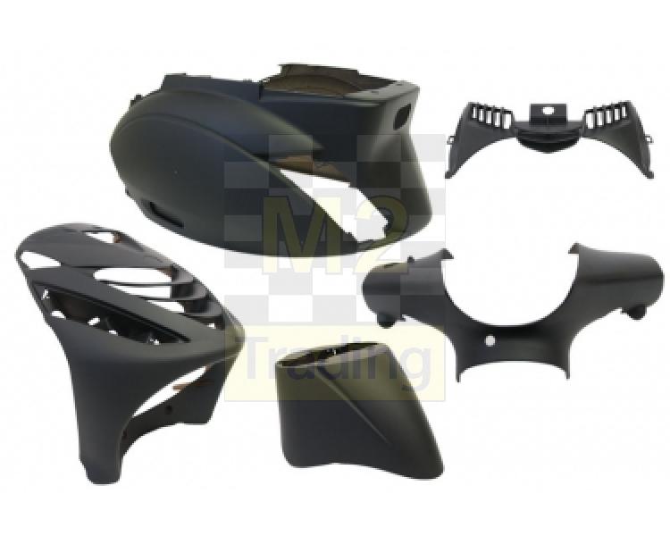 m2 trading / body kit piaggio zip sp 5 delig black mat