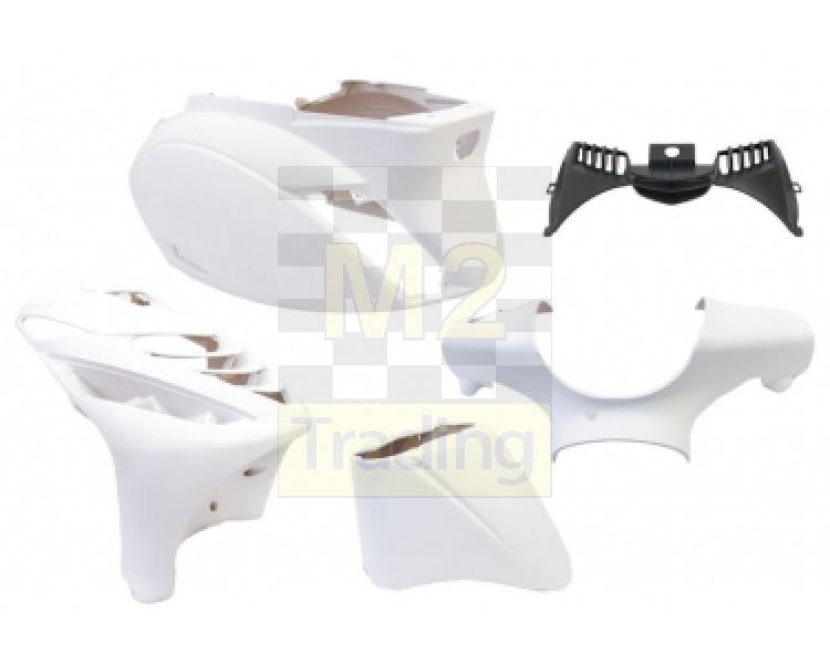 m2 trading / body kit piaggio zip sp 5 delig white mat